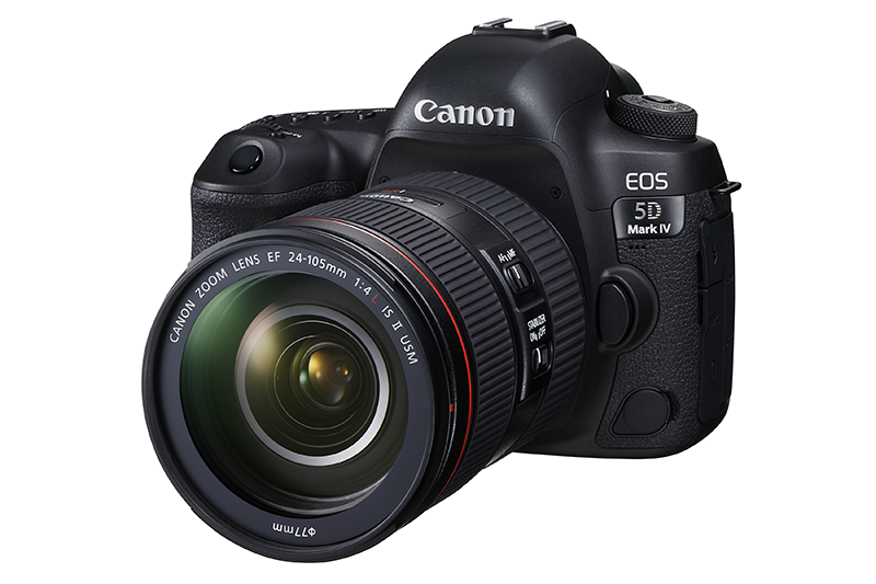 Canon EOS 5D Mark IV Full Frame Camera With 4K Support Launched, Price Starts At 170998 Pesos!