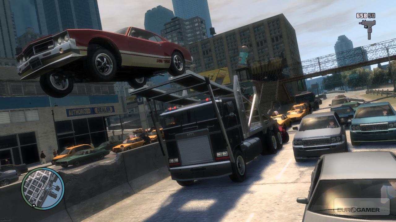 سرقة سيارة في لعبة GTA 7