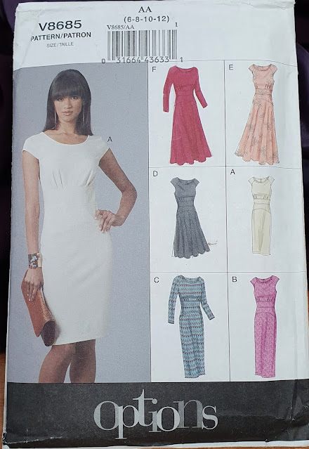 a picture of a sewing pattern cover