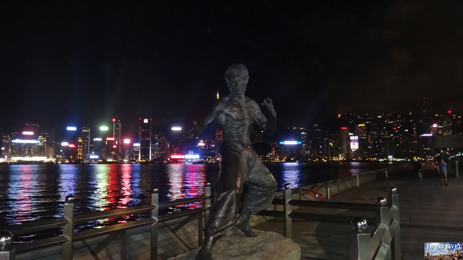 Chine Hong kong statue de Jet Lee