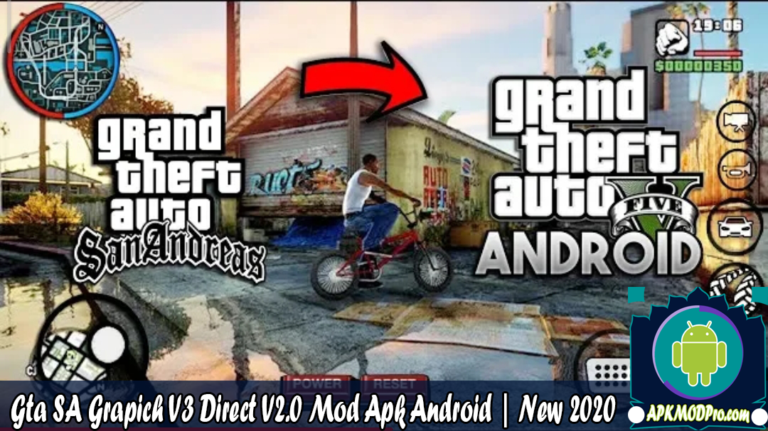 Download GTA SA Grapich V3 Direct v2.0 MOD Apk Android | The Latest Version 2020