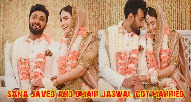 sana javed and umair jaswal got married