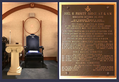 Joel H. Prouty Lodge. Auburn, Massachusetts