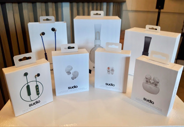Sudio Wireless Earphones