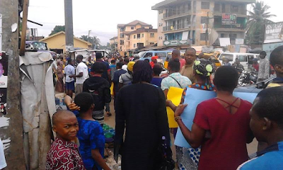 Market traders union in Anambra State stage peaceful protest over increased taxation (photos)