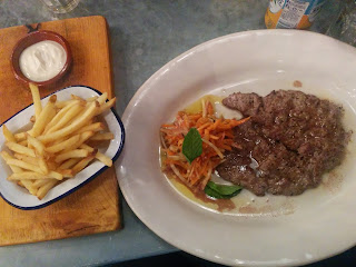 Jamie's Italian Review - Steak and Chips