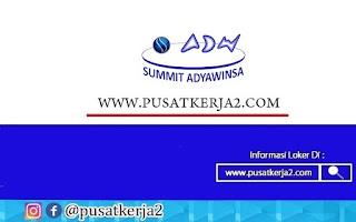 Lowongan Kerja SMA SMK D3 S1 September 2020 PT Summit Adawinsa Indonesia