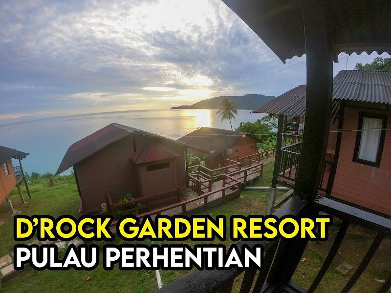 D'Rock Garden Resort Pulau Perhentian Permandangan Laut Aerial View