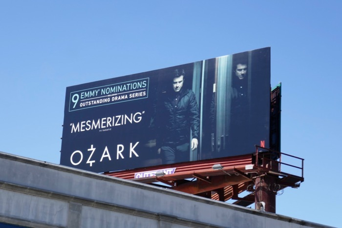Ozark 9 Emmy nominations billboard