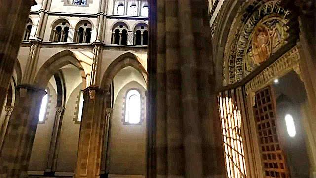 Parte gótica de Cluny III, reconstituição virtual.