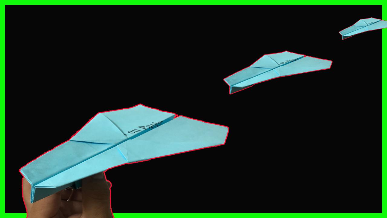 Comment faire un avion en papier - Flèche argentée qui vole loin et longtemps