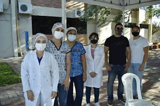 Profissionais do Campus Cuité da UFCG recebem segunda dose contra a Covid-19