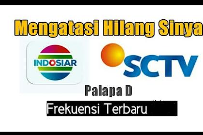 Cara Mencari Dan setting Siaran SCTV Yang Hilang