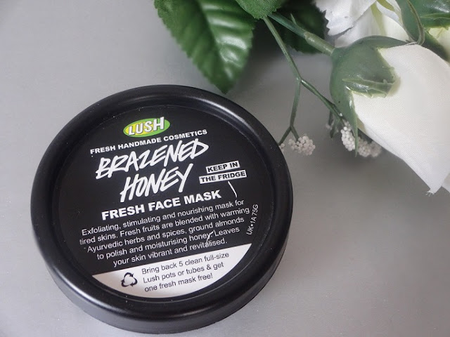 Lush Brazened Honey Fresh Face Mask Review 1