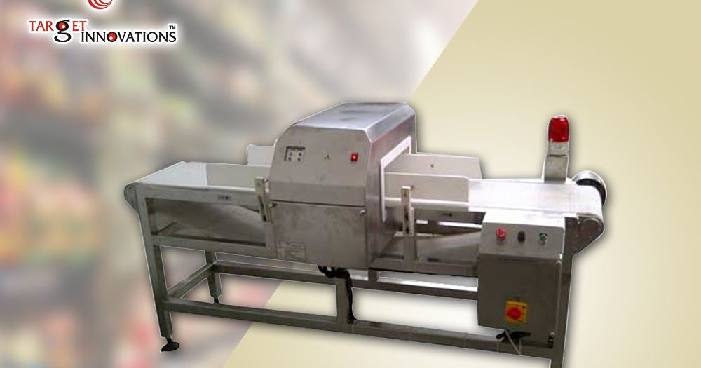 Why The Usage Of Food Metal Detector Machine Will Be Benefited To The Food Industries