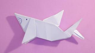 Hướng dẫn cách gấp con cá bằng giấy đơn giản , đẹp