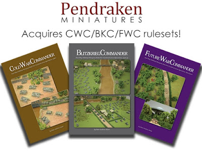 Pendraken Acquires Blitzkrieg Commander family of Rulesets