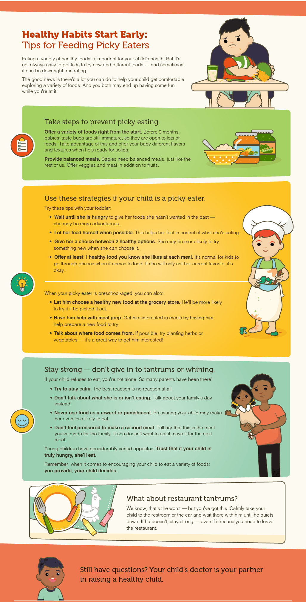 7 Important Healthy Eating Tips For Kids