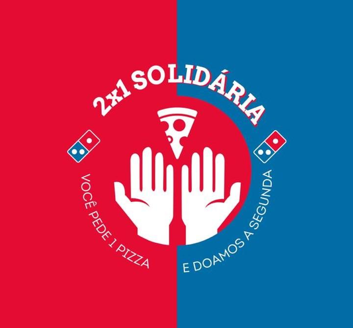 Domino's entrega pizzas doadas por clientes