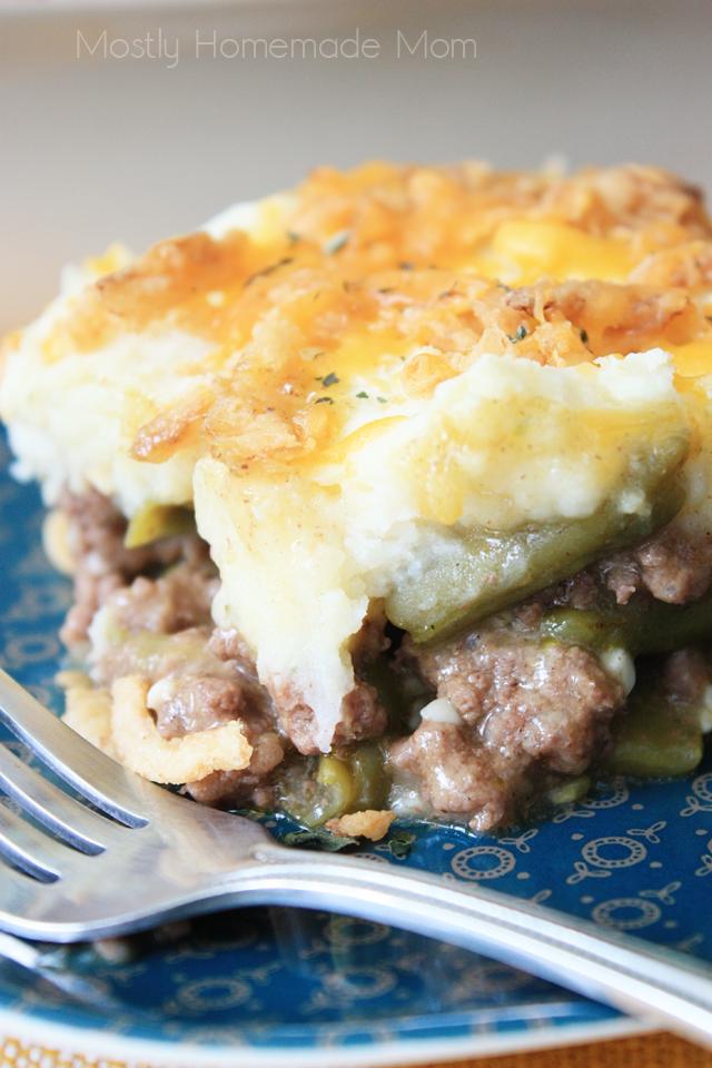 Green Bean Casserole Shepherd's Pie Recipe