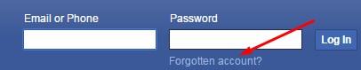 lupa kata sandi facebook lewat hp