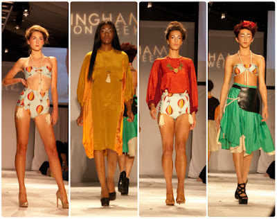Michelle Lesniak - Birmingham Fashion Week 2015
