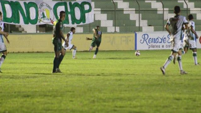 Mesmo perdendo para o Sousa, Nacional escapa do rebaixamento para segunda divisão