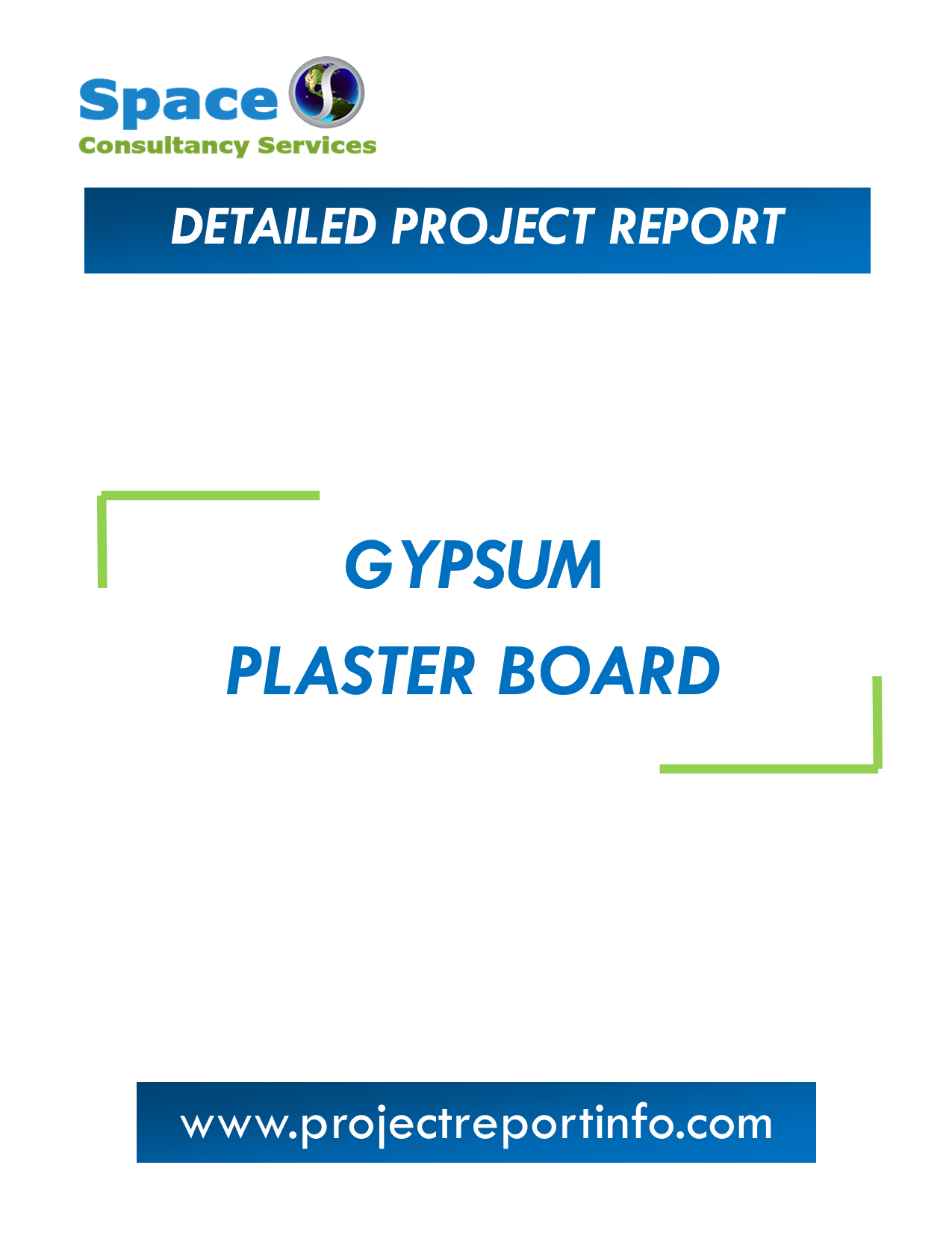 Project Report on Gypsum Plaster Board Manufacturing