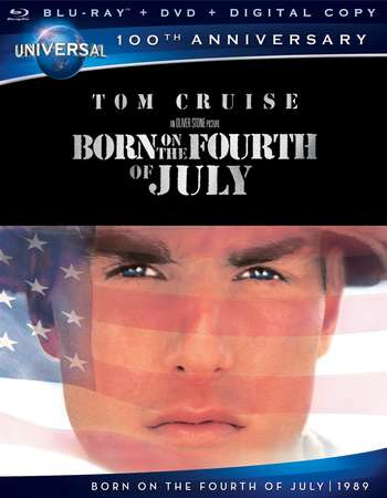 Poster Of Born on the Fourth of July 1989 English 400MB BRRip 480p Free Download Watch Online