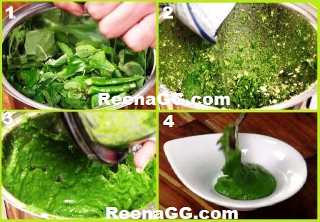 Dhaniya Chutney Recipe For Upvas