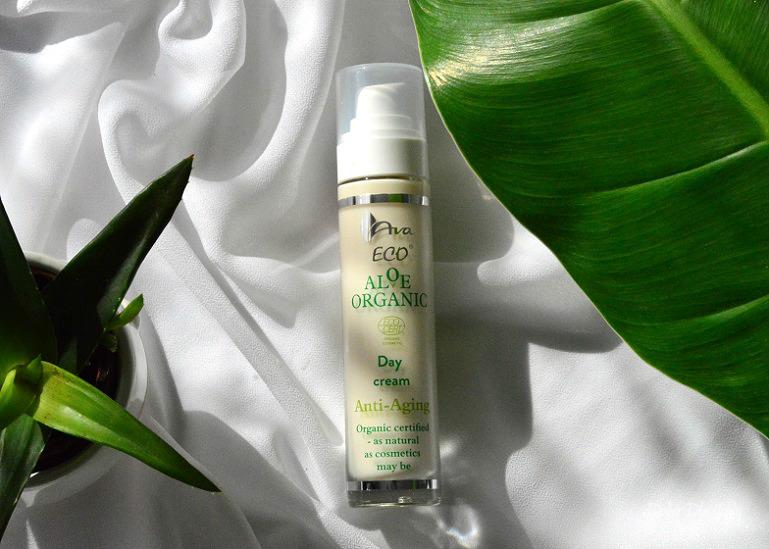 Aloe Organic - Aloesowy Krem na dzień anti-aging