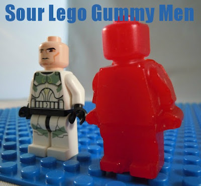 Sour Lego Gummy Men so easy and my kids loved it #gummies #lego #jello