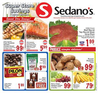 ⭐ Sedanos Ad 10/28/20 ⭐ Sedanos Weekly Flyer October 28 2020