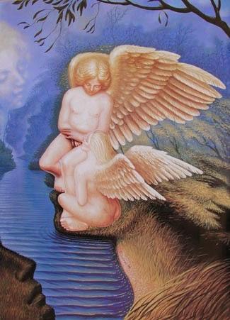 O Ensinamento de Mercúrio - Octavio Ocampo e Suas Pinturas Cheias de Ilusões