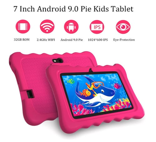 Justethan 2+32GB Dual Camera Tablet for Kids