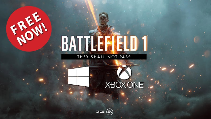 battlefield 1 they shall not pass dlc free