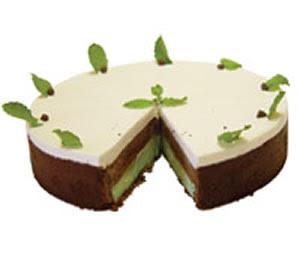 Receita de Torta de Chocolate com Menta