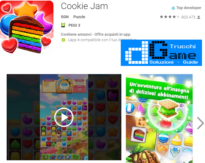 Trucchi Cookie Jam Mod Apk Android v6.10.206