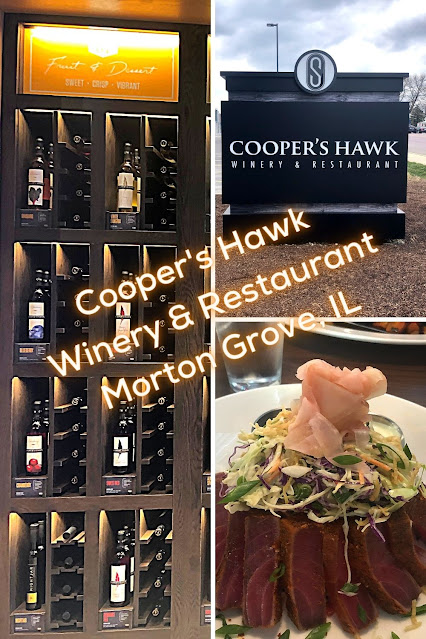 Sipping, Swirling and Tasting at Cooper's Hawk in Morton Grove, Illinois