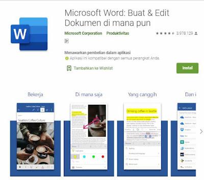 Aplikasi Microsoft Office Mobile adalah aplikasi wajib di HP android