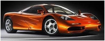 The McLaren F1 Road Car. The new kid on the block