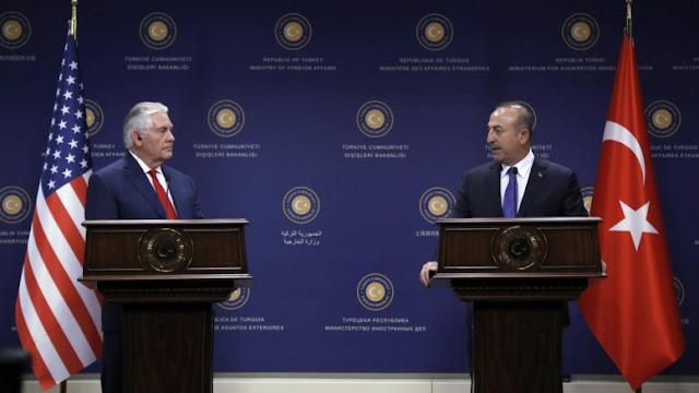 Δεν απάντησε για Κούρδους και Γκιουλέν, στις τουρκικές αιτιάσεις ο Τίλερσον: Επιμένει η Άγκυρα
