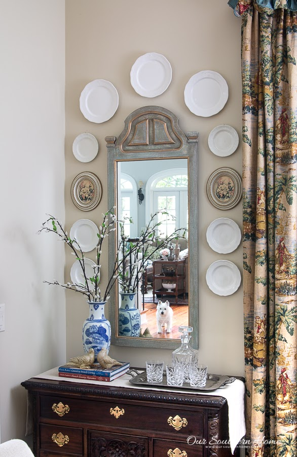 OUR SOUTHERN HOME | THRIFTED MIRROR MAKEOVER