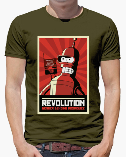 Camiseta Bender Revolution