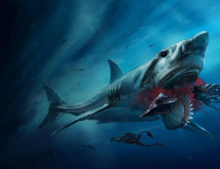 Helicoprion | Shark with a chainsaw on the lower jaw