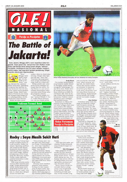 PERSIJA VS PERSIJATIM THE BATTLE OF JAKARTA