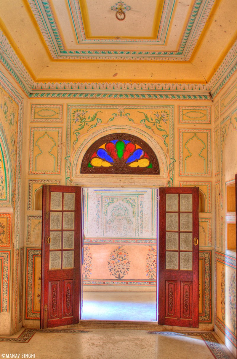 Ground Floor Room at Madhavendra Palace, Nahargarh Fort, Jaipur.