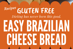 Easy Brazilian Cheese Bread Gluten free #glutenfree