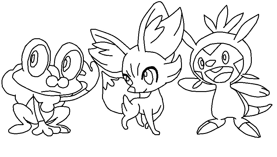 Pokemon Black And White 2 Coloring Pages การ์ตูน�...
