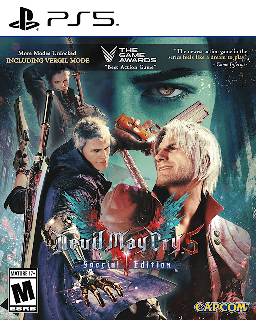 Devil May Cry 5 Special Edition Supports HDMI 2.1